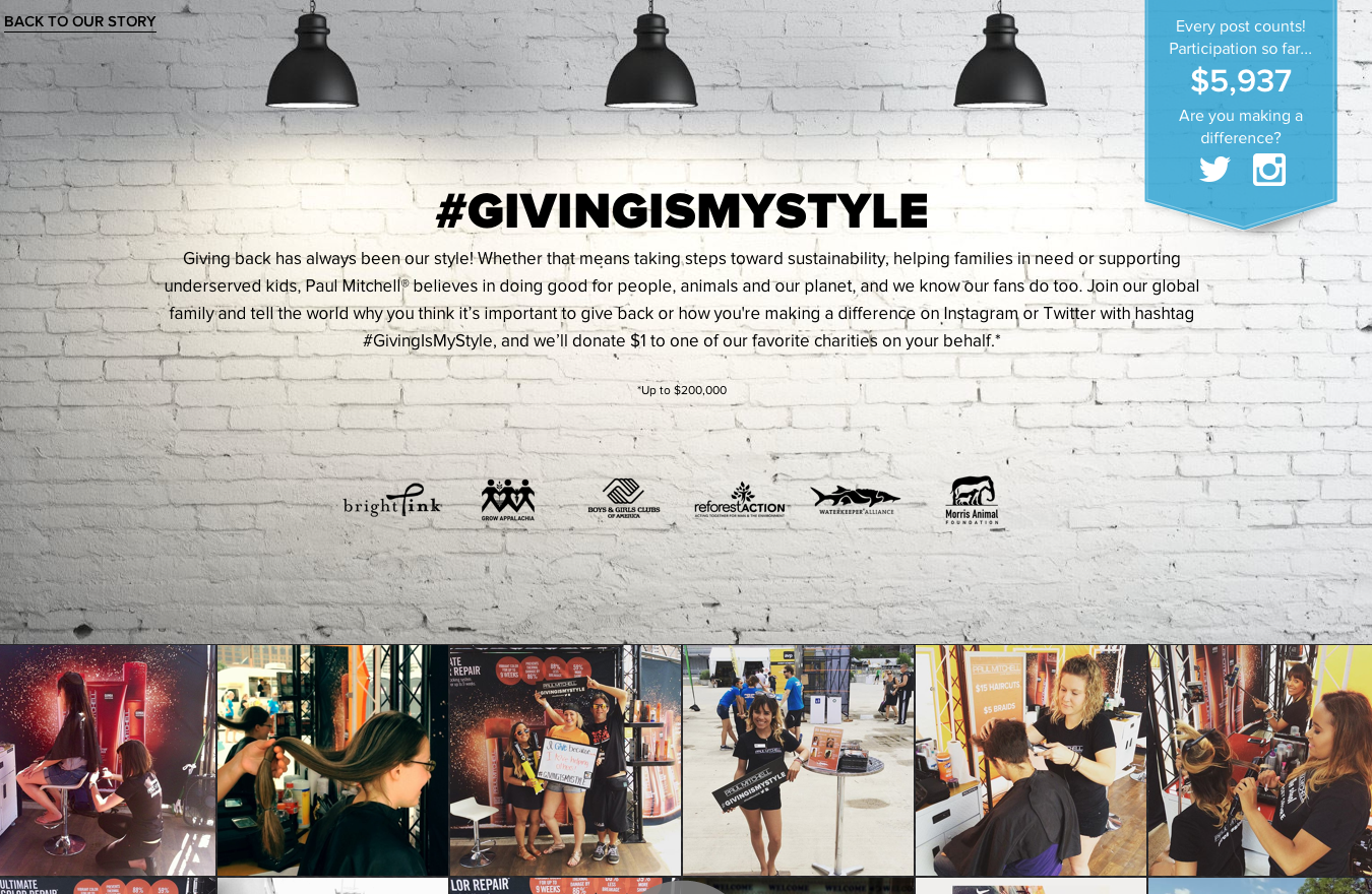 giving is my style