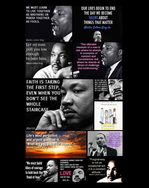 collage mlk