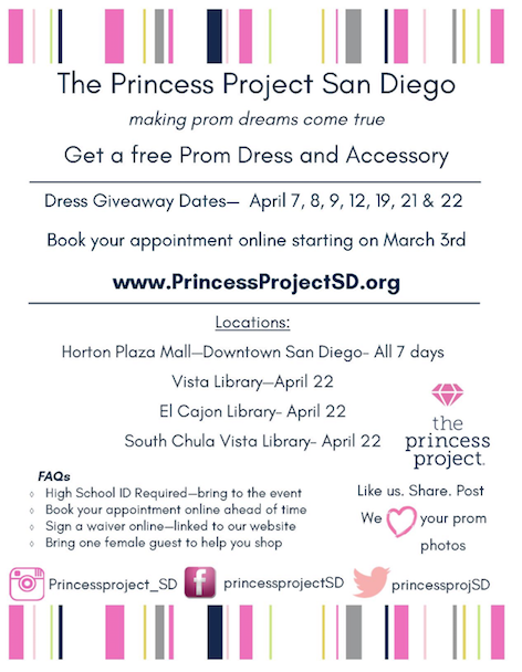 Donate prom dress san diego